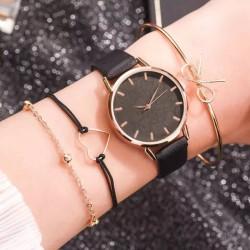 Conjunto reloj + pulseras
